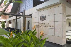 australian consulate general office bali