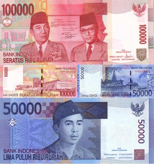 Bali, Indonesian_Rupiah_-_100_50