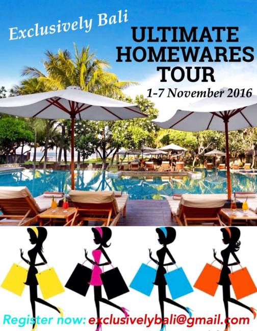 Ultimate Homewares Tour November 2016